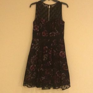 Eliza J lace overlay dress. Like new.